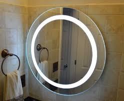 151 best illuminated backlit led round bathroom mirror led vanity