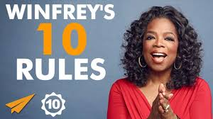 Oprah Winfrey U0027s Top 10 Rules For Success Oprah Youtube