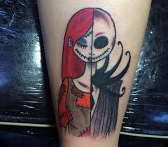 21 best small jack and sally tattoos images on pinterest couples