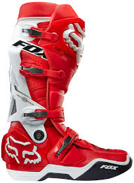 fox comp 5 motocross boots fox socks fox instinct 15 boots motocross red white fox shows