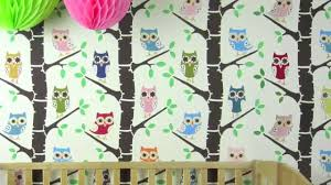 nursery decorating ideas with forest full of owls wall stencil nursery decorating ideas with forest full of owls wall stencil youtube