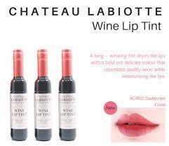 chateau labiotte wine lipstick cr02 labiotte chateau labiotte wine lip tint 24hrsecret australia