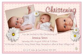 Invitation Card For Baby Name Ceremony Christening Invitation For Baby Christening Invitation