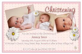 Blank Baptism Invitation Cards Christening Invitation For Baby Christening Invitation