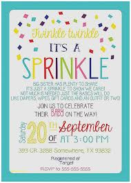 sprinkle shower ba shower invitation inspirational twinkle twinkle baby