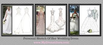 dreamlines wedding dress sketch home facebook