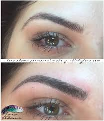 Semi Permanent Tattoo Eyebrows Permanent Cosmetics And Microblading Skin By Tara Permanent