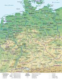 Map Of Germany With Cities by Atlas Of Germany Wikimedia Commons