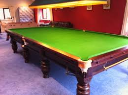how big is a full size pool table ashcroft full size snooker table sold