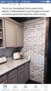 brick tile backsplash kitchen do it yourself brick veneer backsplash bricks kitchens and house
