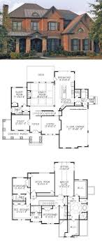 traditional 2 story house plans image result for floor plan bungalow covered deck 3 car garage 2