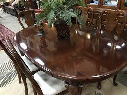 thomasville dining set u2013 petersons u0027 consigning design