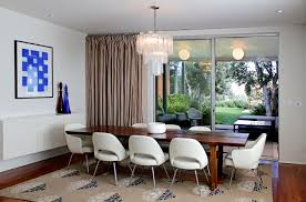 miller house interior round dinning room table dwell 6 formal