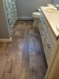 great vinyl plank flooring in bathroom 5 flooring options for