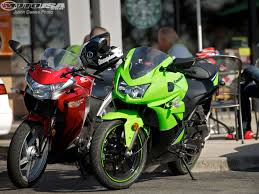 2011 kawasaki ninja 250r comparison photos motorcycle usa