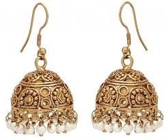 gujarati earrings 5 jhumka styles to glam up your wedding day look india s wedding