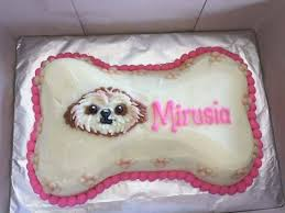 made to order dog celebration cake only at furkids picture of