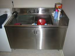 stainless steel laundry sink stainless steel laundry tubs and cabinets toronto by p v a