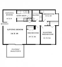 Download Simple Three Bedroom House Plans Home Intercine