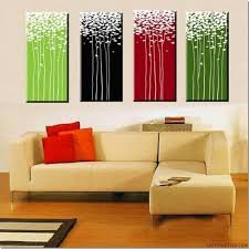 decorating gorgeous acrylic paintings wall decor inspiration
