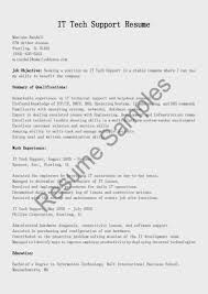 Resume Samples It by Resume For It Support It Support Resume Resume Downloads Resume