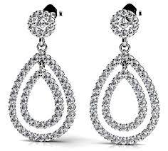 teardrop diamond earrings teardrop diamond earrings the fashion tag