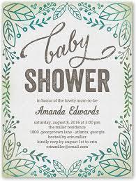 baby shower invite organic shower 4x5 invitation baby shower invitations shutterfly