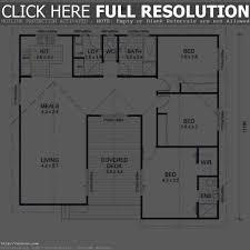 Ranch Home Floor Plans 4 Bedroom 100 Ranch Home Floor Plans 4 Bedroom Download Simple Ranch