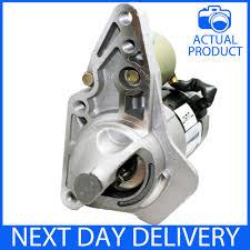 nissan micra starter motor fits nissan micra mk3 1 6 sr petrol 2005 2015 new starter motor ebay