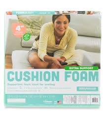 Cushion Sponge Material Fairfield Extra Support Cushion Foam 22 U0027 U0027x22 U0027 U0027x4 U0027 U0027 Joann