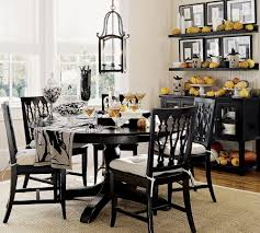decorations black and white french vintage dining room halloween