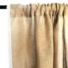 Smocked Burlap Curtains Burlap Curtains Curtains Shabby Chic Curtains Burlap Curtains