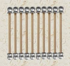 scroll invitation rods 6 inch diy 150 pairs scroll invitation rods