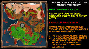 The Forest Map The Forest Stick Locations Album On Imgur