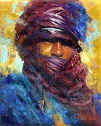 People Painting by Youssef El Aouni Painting Art People Gallery Art Pinterest