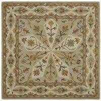 10 Square Area Rugs 8 U0027 Square Sage Green Area Rug Tara Rc Willey Furniture Store