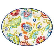 ceramic serving platter certified international san marino by joyce shelton oval ceramic