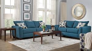 livingroom pc blue living room sets stunning decor lr rm bonitasprings blue pc