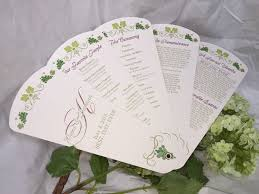 Paper Fan Wedding Programs 44 Best Wedding Programs Images On Pinterest Fan Programs