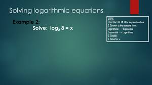 solving logarithmic equations for x jennarocca