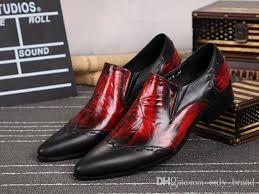 wedding shoes korea new autumn genuine leather mens shoes korea style mix