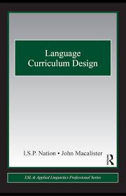 language curriculum design