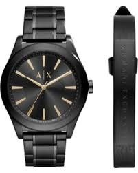 mens stainless steel bracelet watches images Fall sale ax armani exchange men 39 s stainless steel bracelet watch