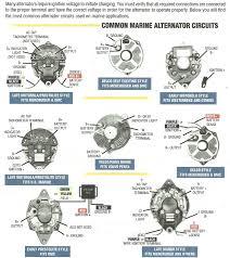 motorola marine alternator wiring diagram mercruiser alternator