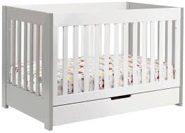 Harlow 3 In 1 Convertible Crib Acrylic Baby Crib Amusing Espresso Wood Stained Bellini Baby