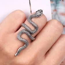 long rings design images Fashion snake rings men ring fashion design long finger jewelry jpg