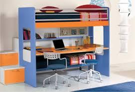 letto a con scrivania happy con scrivania sotto