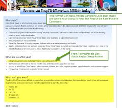 Easy click travel scam the easy excuse travel company