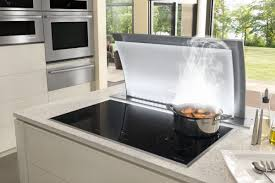 jenn air induction cooktop with downdraft ventilation nicasio