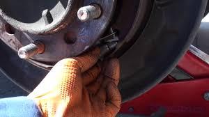 2007 2013 toyota tundra parking brake adjustment youtube